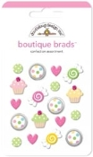 Doodlebug Confection Boutique Brad Assortment