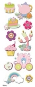 Disney Princess Icons 3D stickers