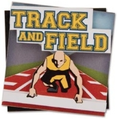 Karen Foster Lil Stack 3-D Track and Field Sticker