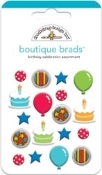 Doodlebug Birthday Celebration Boutique Brad Assortment