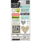 Me & My Big Ideas Chipboard Value Pack - Love This